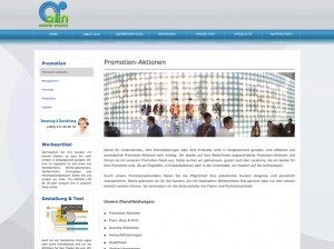 Promotion  - Alin Medien Design Webseite