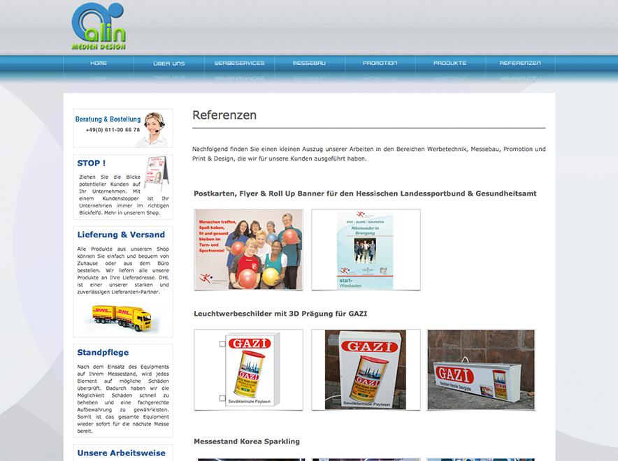 Referenzen - Alin Medien Design